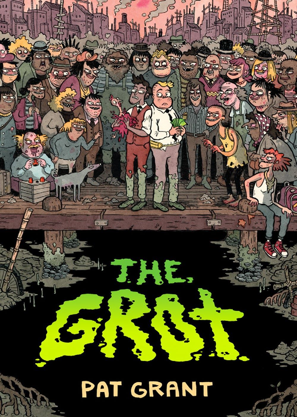 the-grot-preview-1 ComicList Previews: THE GROT THE STORY OF THE SWAMP CITY GRIFTERS TP