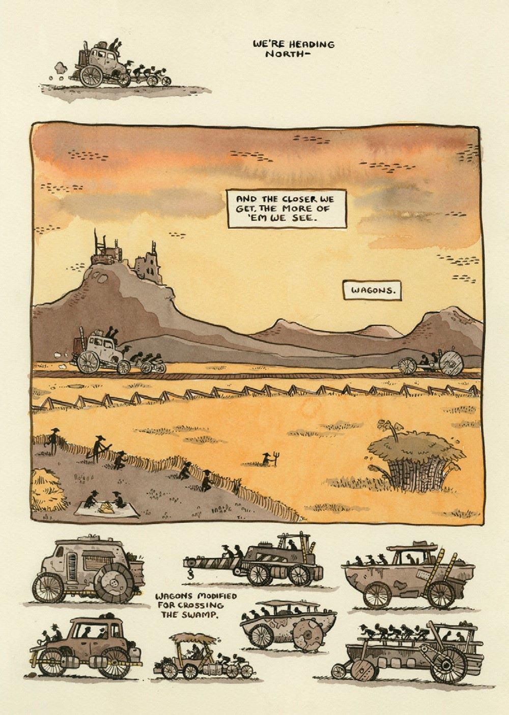 the-grot-preview-4 ComicList Previews: THE GROT THE STORY OF THE SWAMP CITY GRIFTERS TP