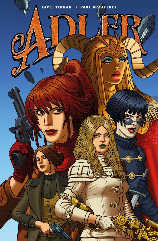 Adler3B ComicList Previews: ADLER #3