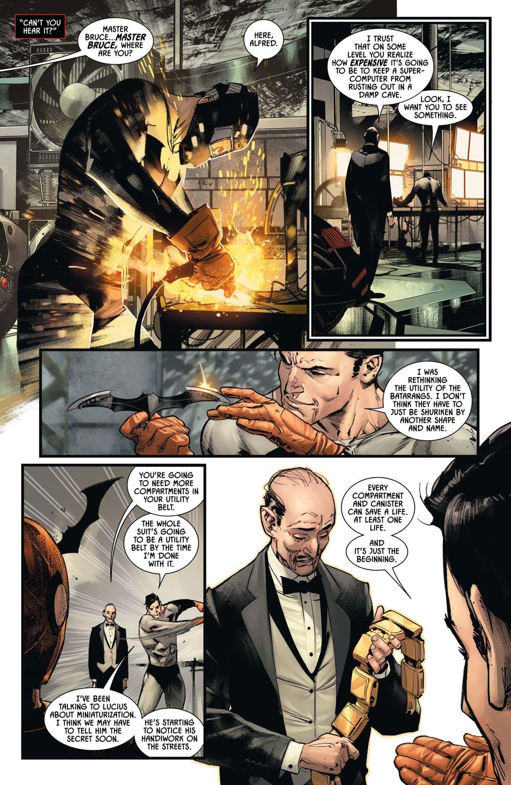 BM-98-3 ComicList Previews: BATMAN #98