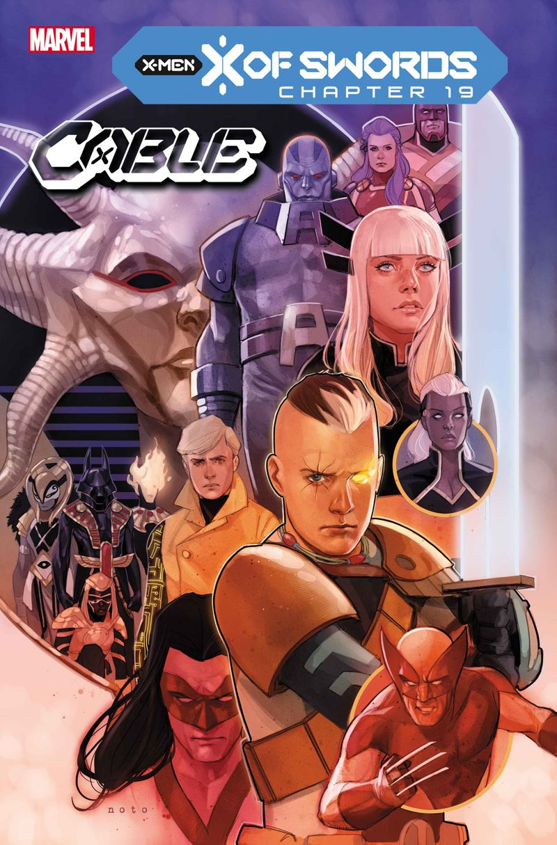 CABLE2020006_cov Marvel Comics releases November X OF SWORDS covers