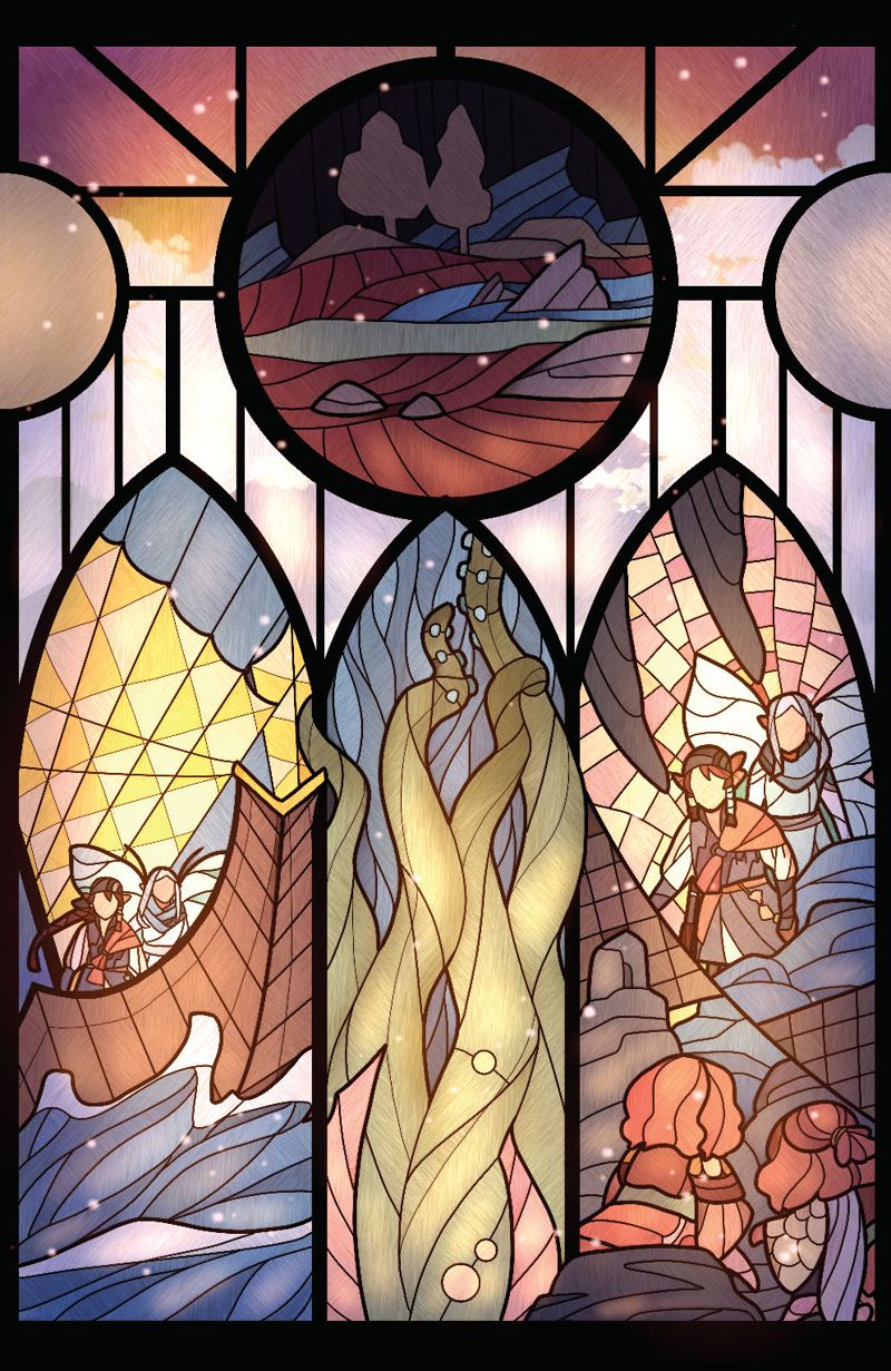 DarkCrystal_AgeResistance_010_Cover_Connecting ComicList Previews: JIM HENSON'S THE DARK CRYSTAL AGE OF RESISTANCE #10