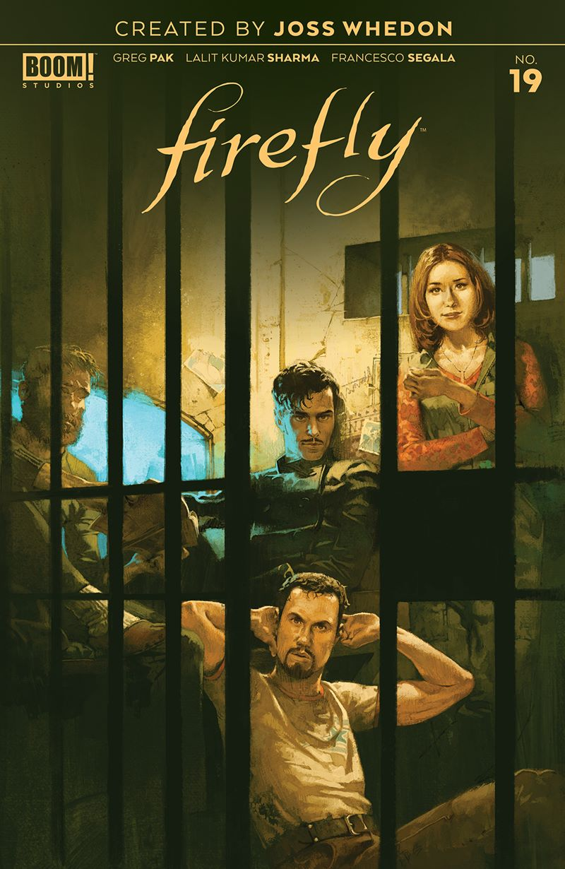 Firefly_019_Cover_Main ComicList: BOOM! Studios New Releases for 08/19/2020