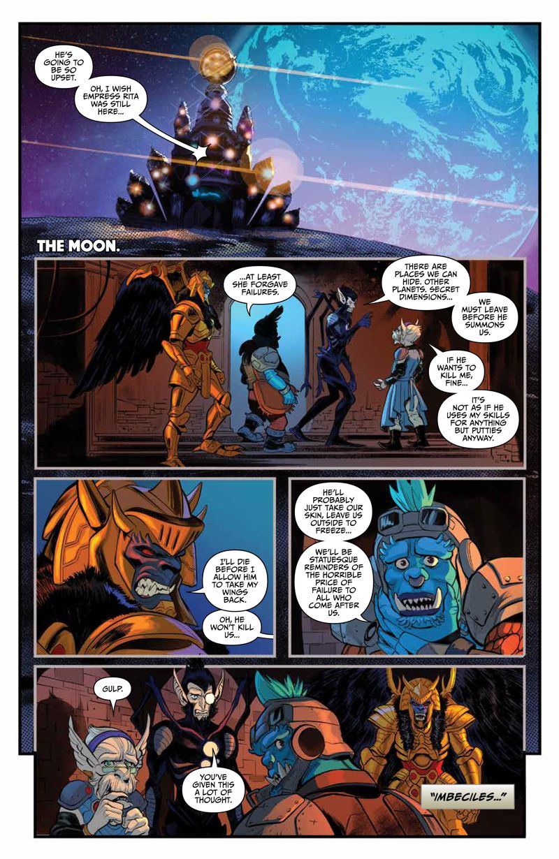 GoGoPowerRangers_v7_SC_PRESS_18 ComicList Previews: SABAN'S GO GO POWER RANGERS VOLUME 7 TP