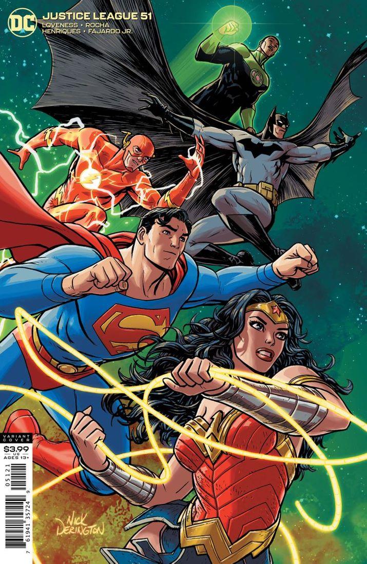 JUSTL-Cv51-var ComicList Previews: JUSTICE LEAGUE #51