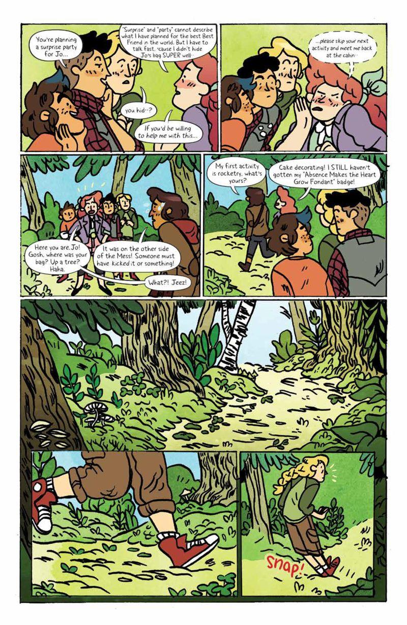 Lumberjanes_v15_SC_PRESS_15 ComicList Previews: LUMBERJANES VOLUME 15 TP
