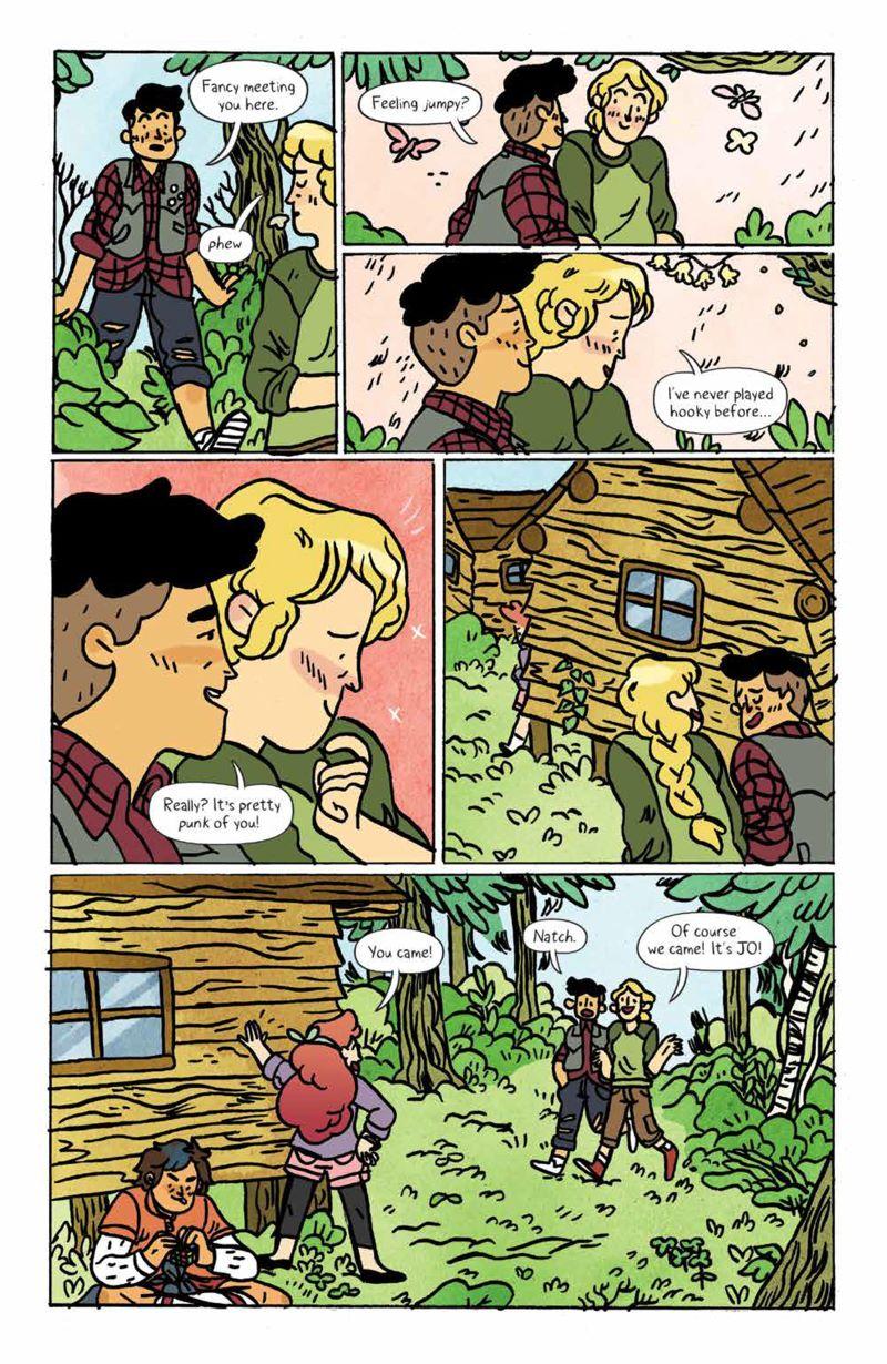 Lumberjanes_v15_SC_PRESS_16 ComicList Previews: LUMBERJANES VOLUME 15 TP