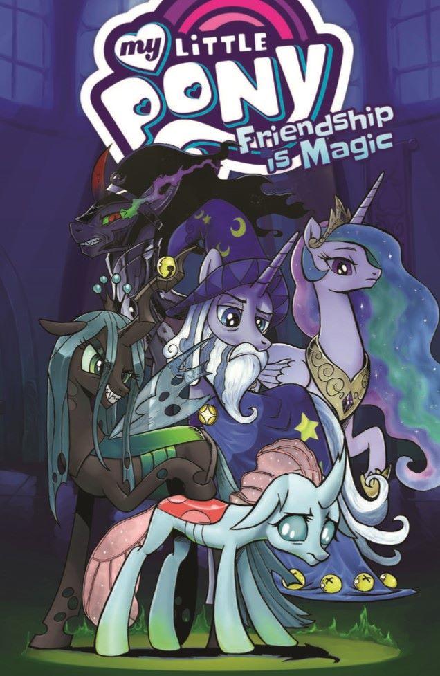 MLP_TPBv19-pr-1 ComicList Previews: MY LITTLE PONY FRIENDSHIP IS MAGIC VOLUME 19 TP