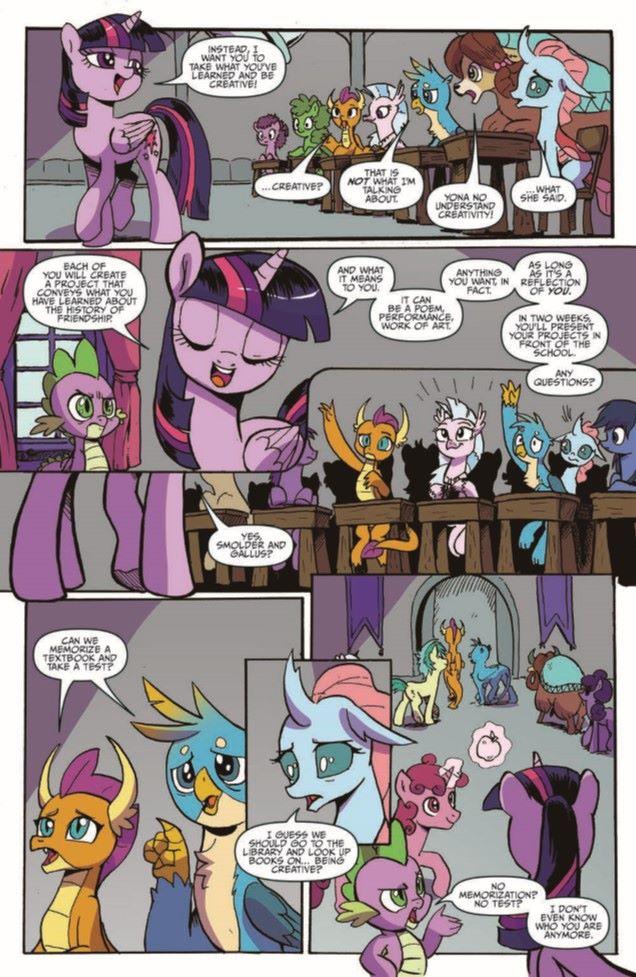 MLP_TPBv19-pr-5 ComicList Previews: MY LITTLE PONY FRIENDSHIP IS MAGIC VOLUME 19 TP