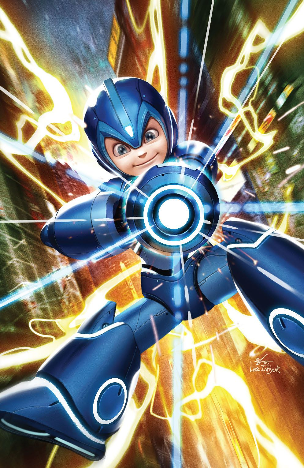 MegaMan_FullyCharged_001_Cover_Variant ComicList Previews: MEGA MAN FULLY CHARGED #1