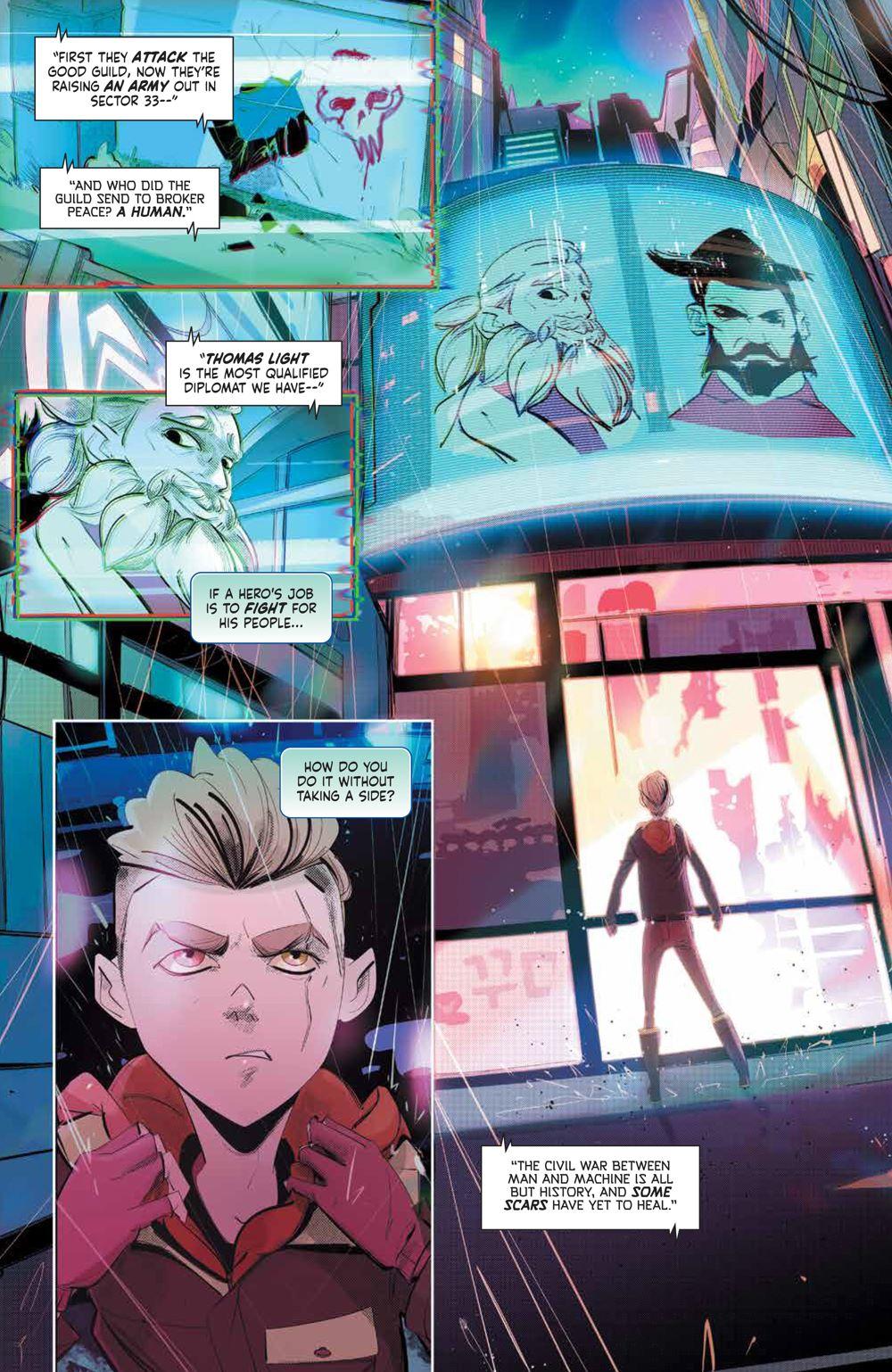 MegaMan_FullyCharged_001_PRESS_4 ComicList Previews: MEGA MAN FULLY CHARGED #1