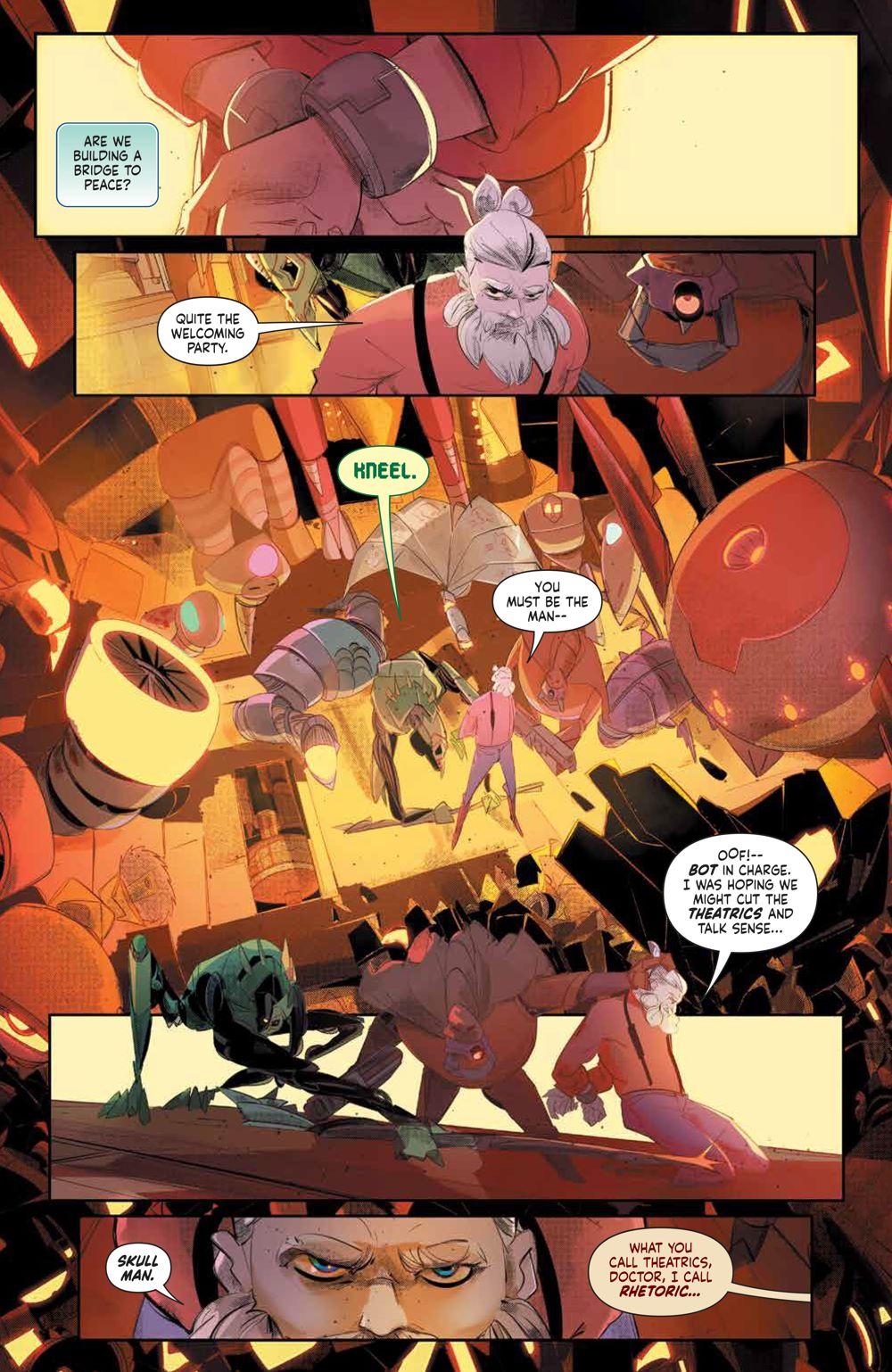 MegaMan_FullyCharged_001_PRESS_7 ComicList Previews: MEGA MAN FULLY CHARGED #1