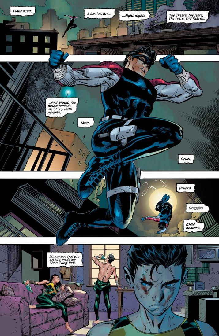 NW-73-4 ComicList Previews: NIGHTWING #73