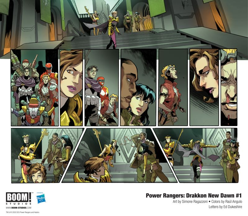 PowerRangers_DrakkonNewDawn_001_InteriorArt_002-003_PROMO-1 First Look at BOOM! Studios' POWER RANGERS: DRAKKON NEW DAWN #1