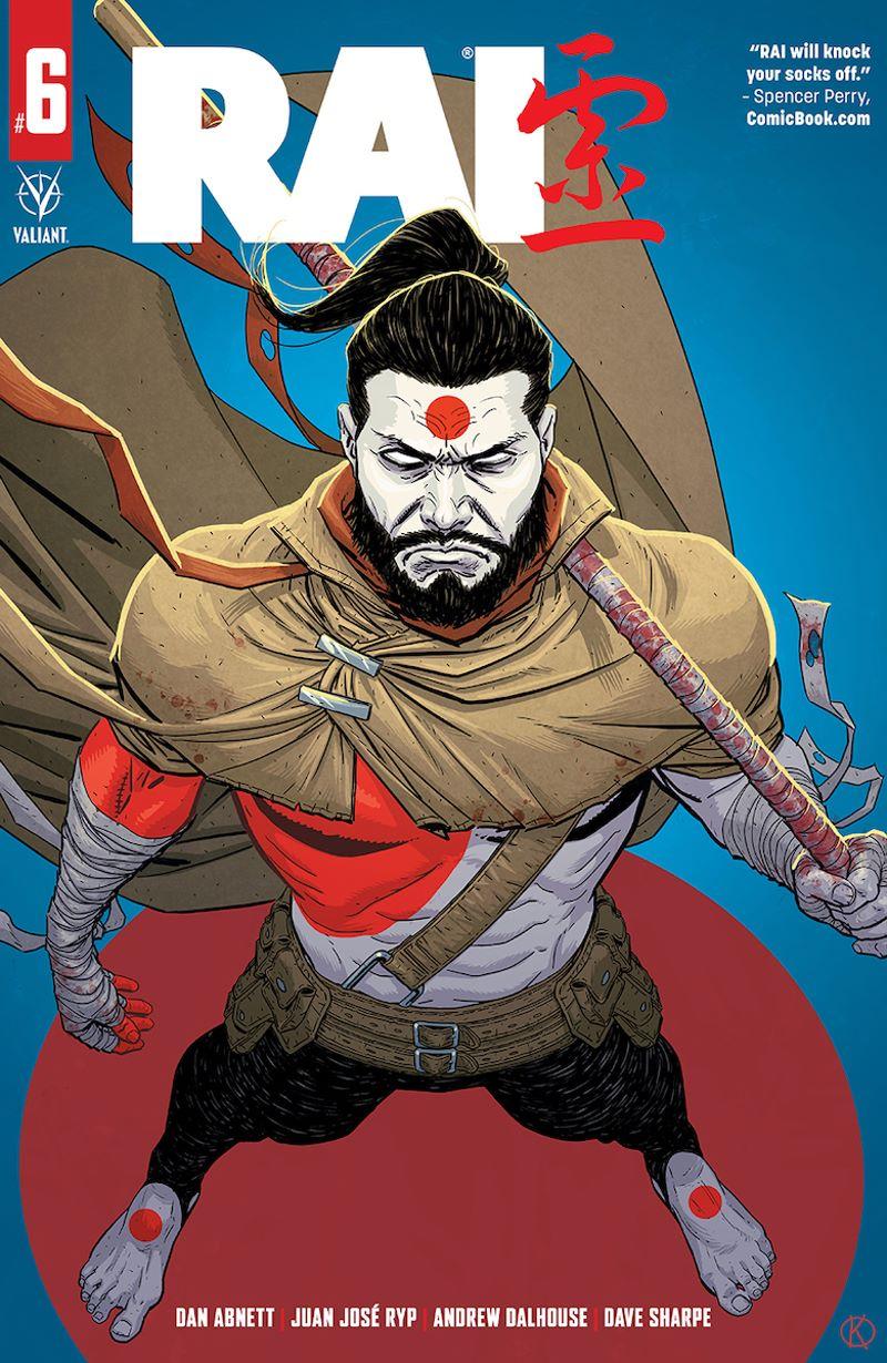 RAI_06_CoverB ComicList Previews: RAI #6