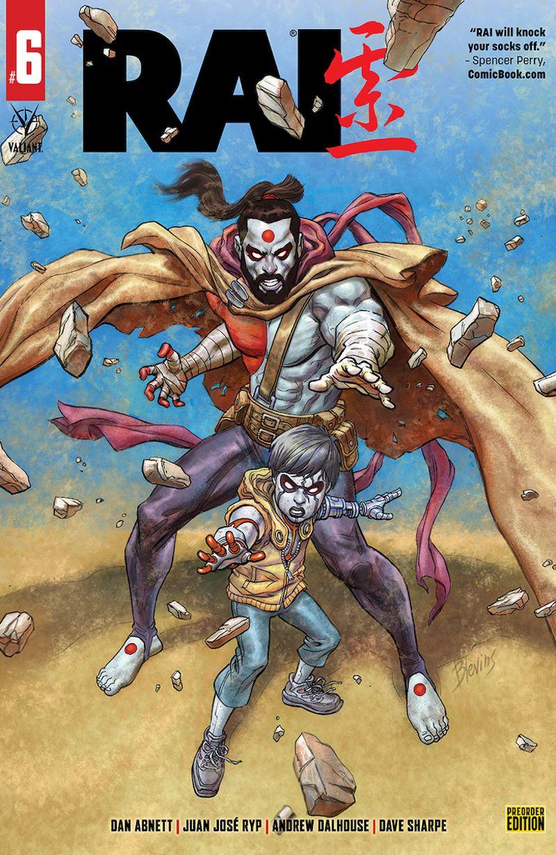 RAI_06_CoverD ComicList Previews: RAI #6