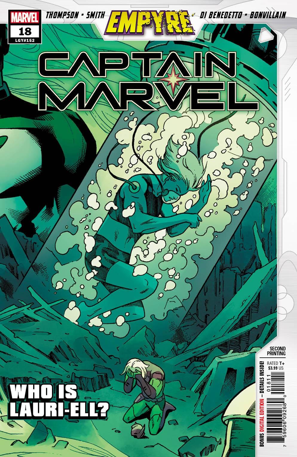 STL168159 ComicList: Marvel Comics New Releases for 09/02/2020