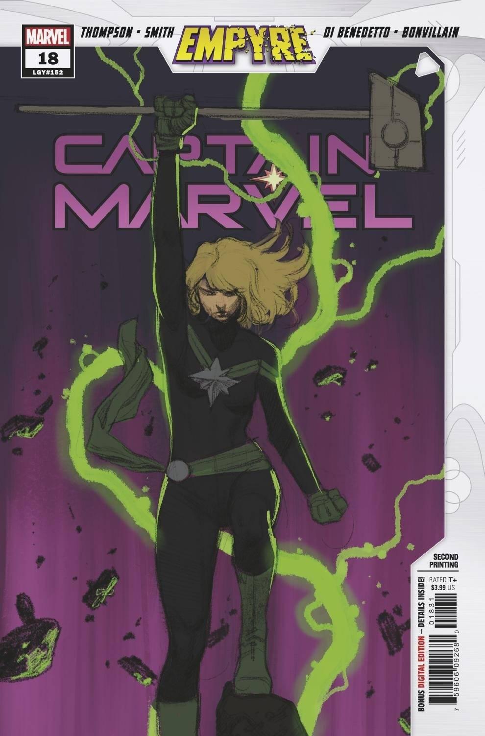 STL168168 ComicList: Marvel Comics New Releases for 09/02/2020