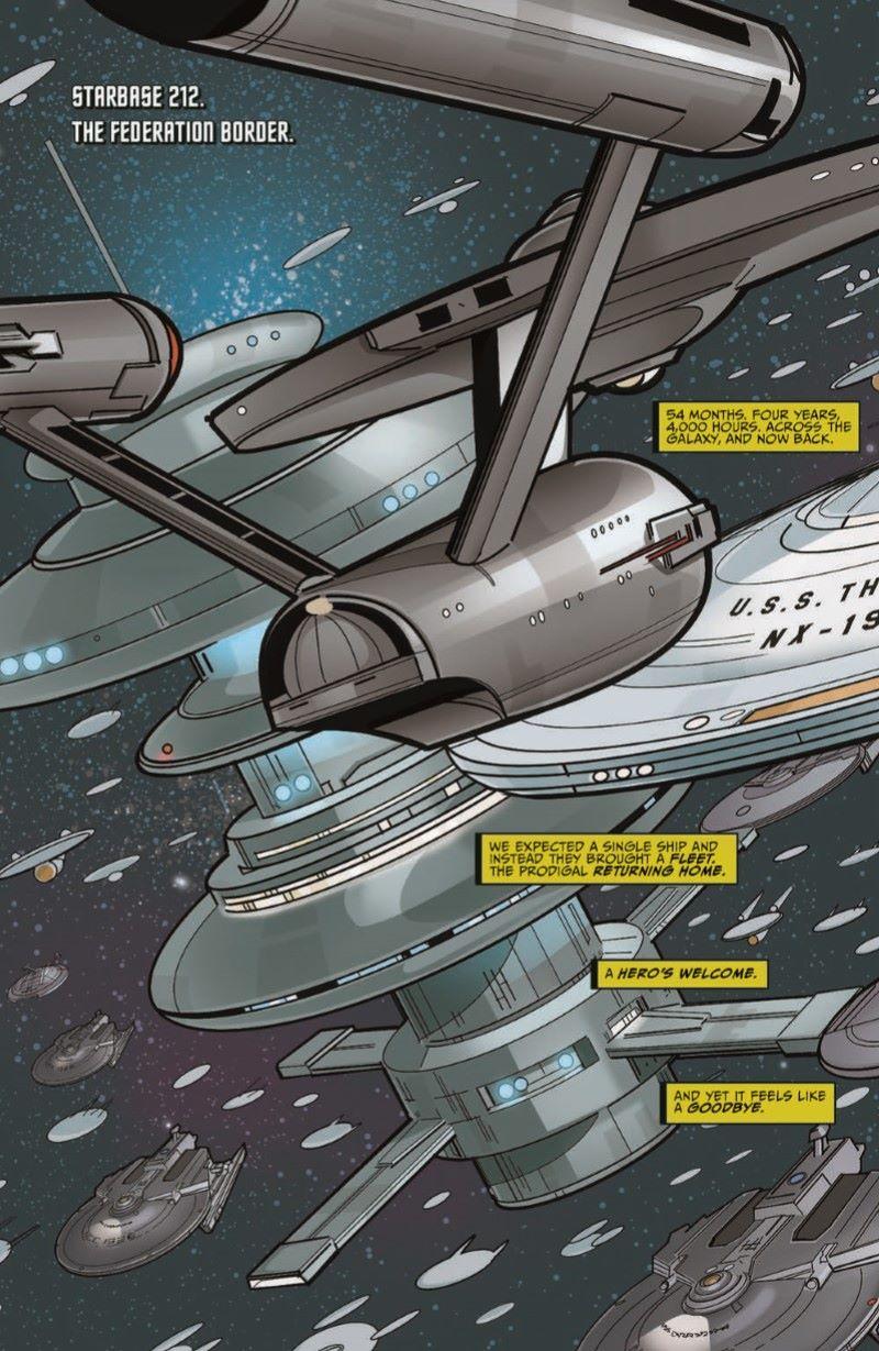 ST_YearFive13-pr-4 ComicList Previews: STAR TREK YEAR FIVE #13