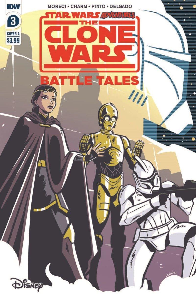 SWCloneWars-03-pr-1 ComicList Previews: STAR WARS ADVENTURES THE CLONE WARS BATTLE TALES #3