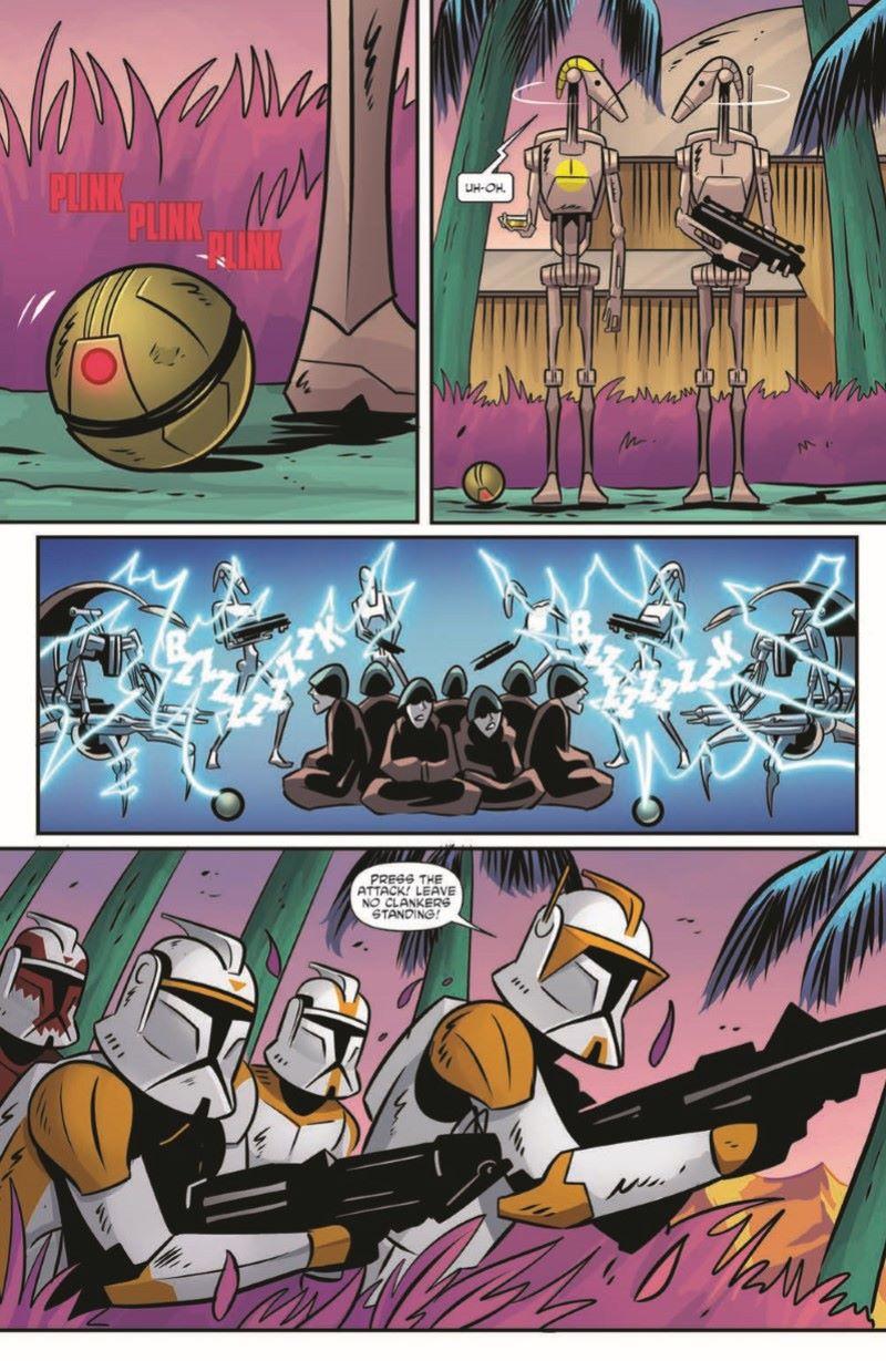 SWCloneWars-03-pr-4 ComicList Previews: STAR WARS ADVENTURES THE CLONE WARS BATTLE TALES #3