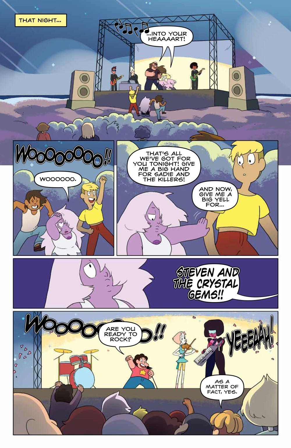 StevenUniverse_v8_SC_PRESS_15 ComicList Previews: STEVEN UNIVERSE VOLUME 8 TO BE HAPPY TP