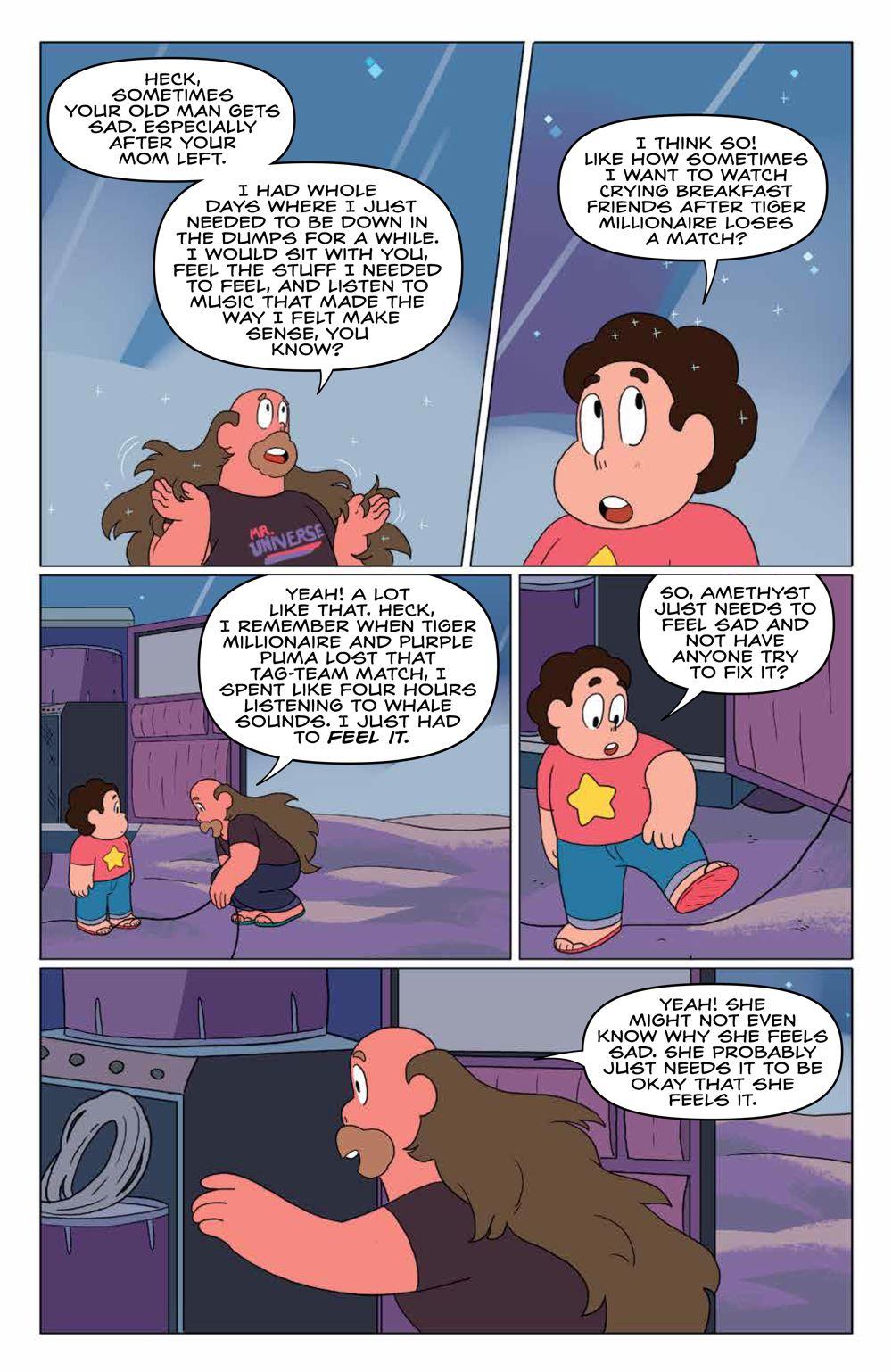 StevenUniverse_v8_SC_PRESS_19 ComicList Previews: STEVEN UNIVERSE VOLUME 8 TO BE HAPPY TP