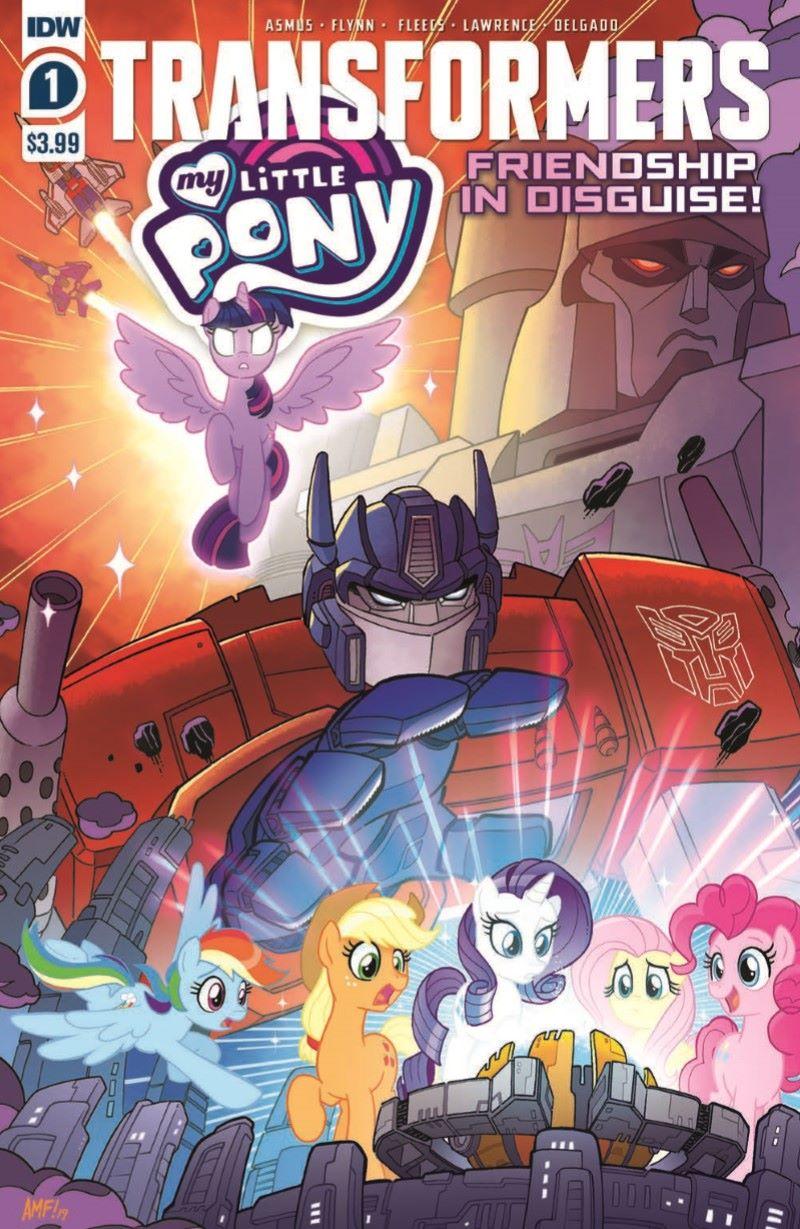 TFMLP01-pr-1 ComicList Previews: MY LITTLE PONY TRANSFORMERS #1