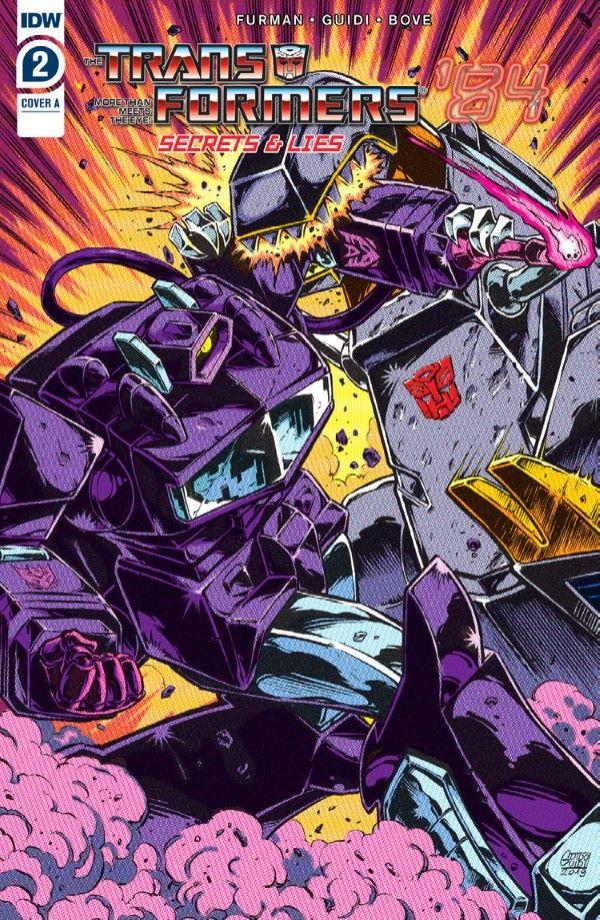 Transformers84_02-preview-1-2 ComicList Previews: TRANSFORMERS '84 SECRETS AND LIES #2