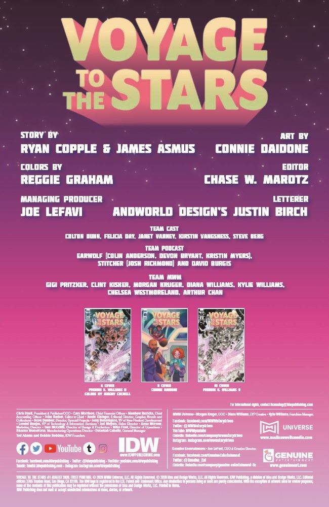 VoyageToTheStars_01-pr-2 ComicList Previews: VOYAGE TO THE STARS #1