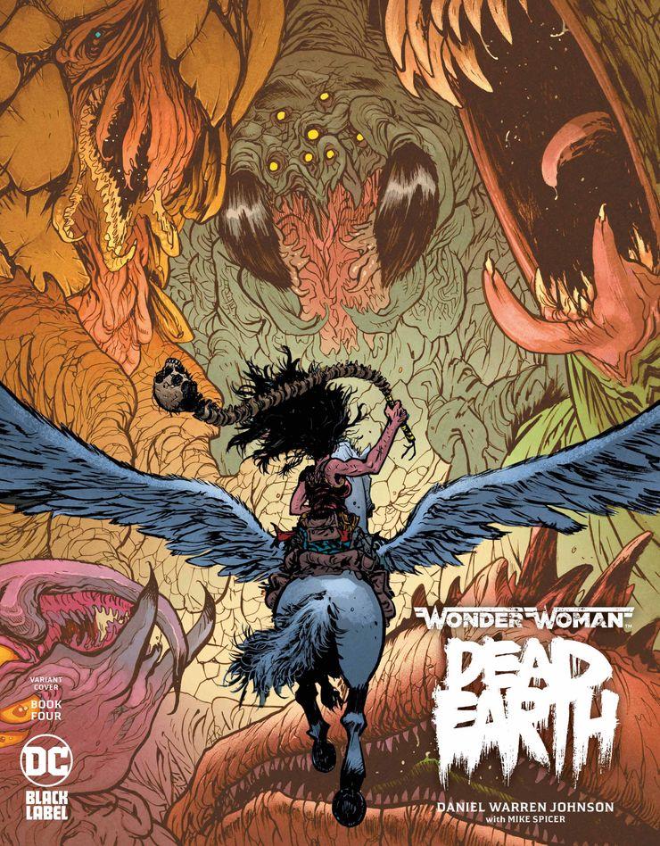 WWDE-Cv4-var ComicList Previews: WONDER WOMAN DEAD EARTH #4