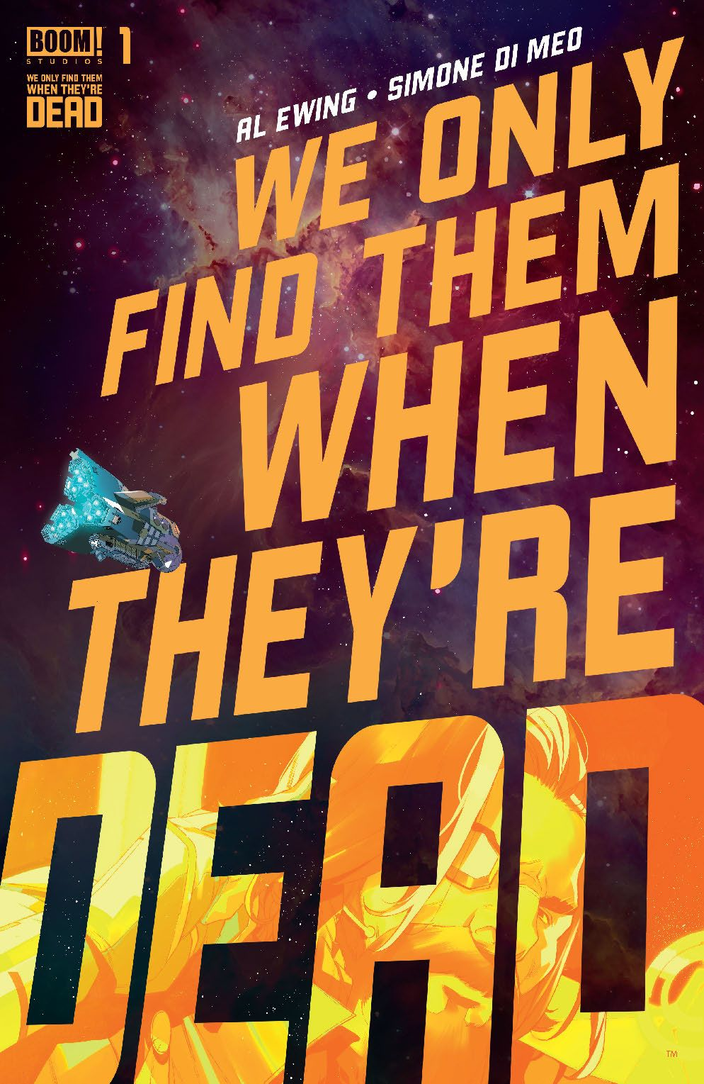 WeOnlyFindThem_001_Cover_Main ComicList: BOOM! Studios New Releases for 09/02/2020