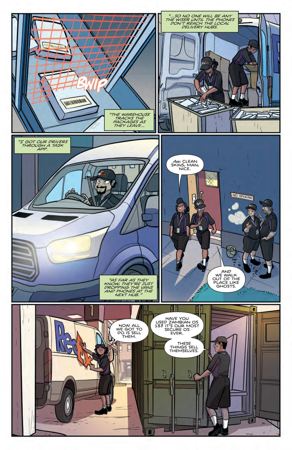WickedThings_004_PRESS_7 ComicList Previews: WICKED THINGS #4