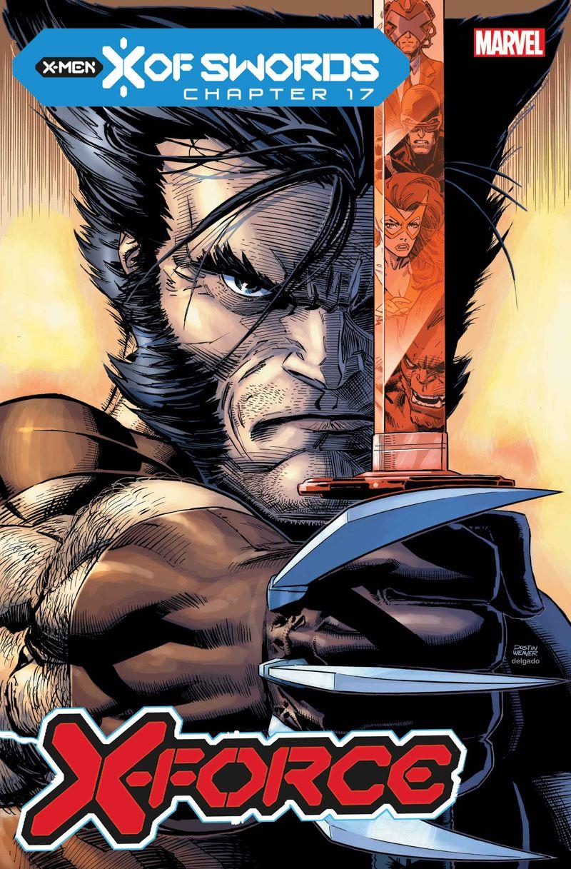 XFORCE2019014_cov Marvel Comics releases November X OF SWORDS covers