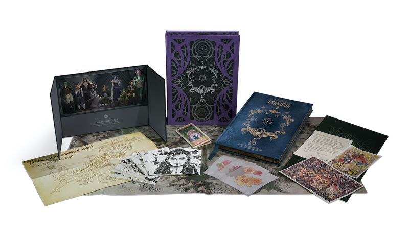 exandriacov Critical Role's Mighty Nein Campaign receives a deluxe edition artbook