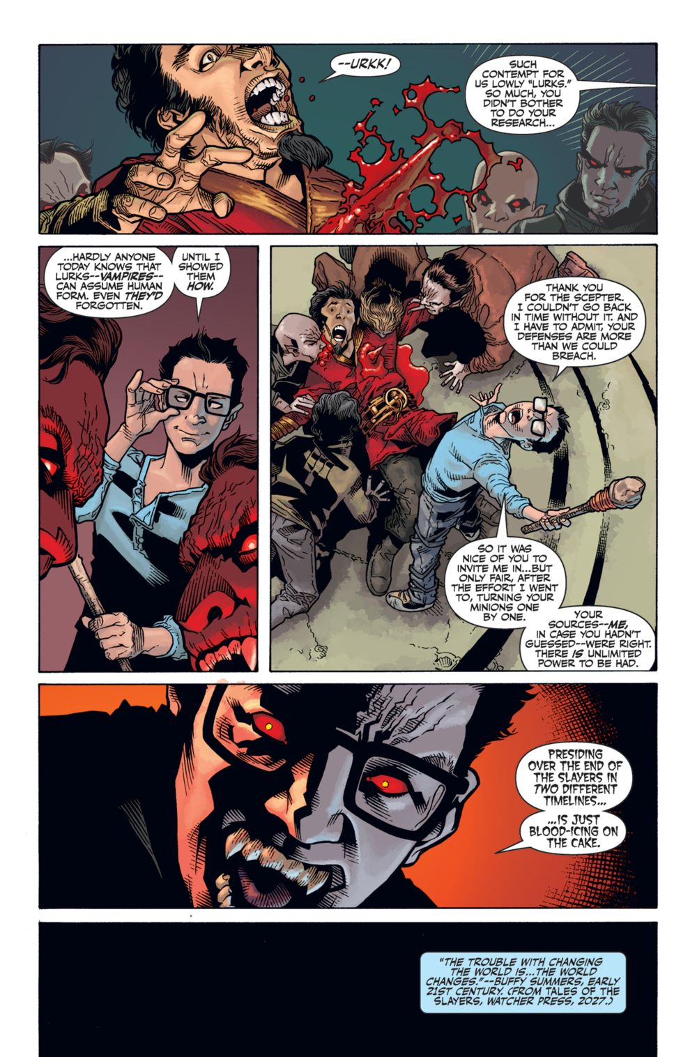 Buffy_Season12_HC_PRESS_113 ComicList Previews: BUFFY THE VAMPIRE SLAYER SEASON 12 LIBRARY EDITION VOLUME 1 HC