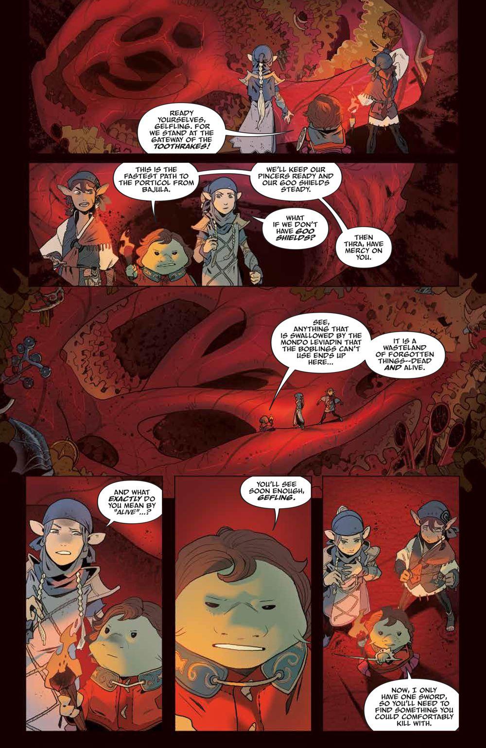 DarkCrystal_AgeResistance_011_PRESS_3 ComicList Previews: JIM HENSON'S THE DARK CRYSTAL AGE OF RESISTANCE #11