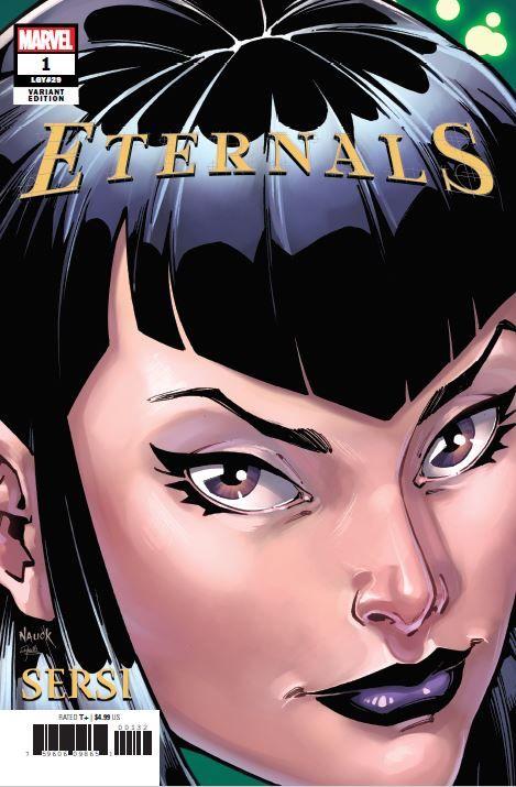 ETERNALS-1-NAUCK-HEADSHOT-VARIANT Todd Nauck to draw Headshot Variant Covers for Marvel this November