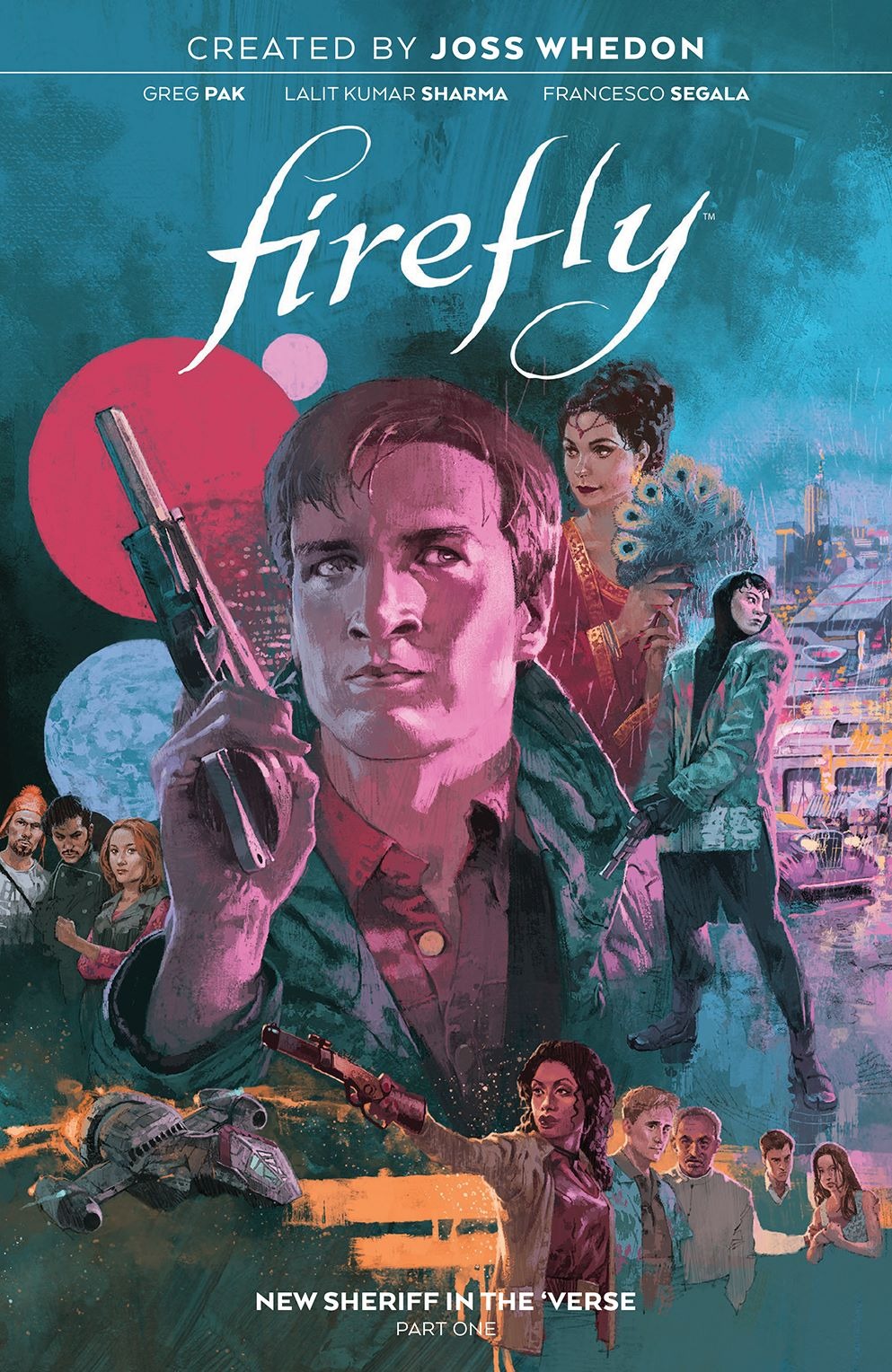 Firefly_NewSheriffVerse_v1_HC_Cover ComicList Previews: FIREFLY NEW SHERIFF IN THE 'VERSE VOLUME 1 HC
