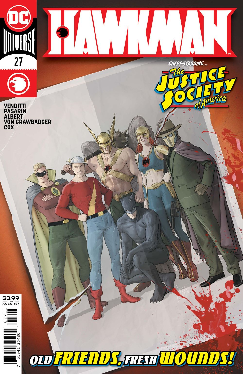 HWKM-Cv27 ComicList Previews: HAWKMAN #27