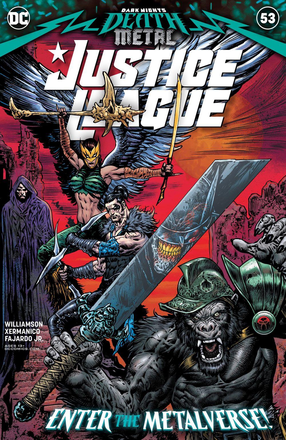 JUSTICE-LEAGUE-Cv53 ComicList Previews: JUSTICE LEAGUE #53