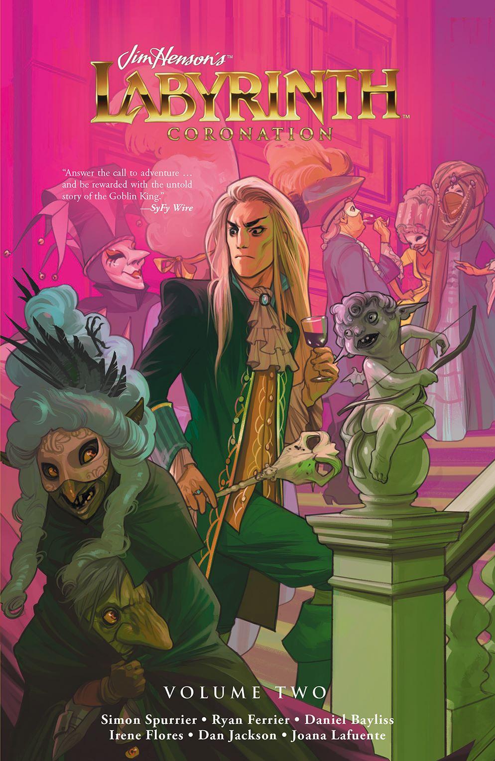 LabyrinthCoronation_v2_SC_Cover ComicList Previews: JIM HENSON'S LABYRINTH CORONATION VOLUME 2 TP
