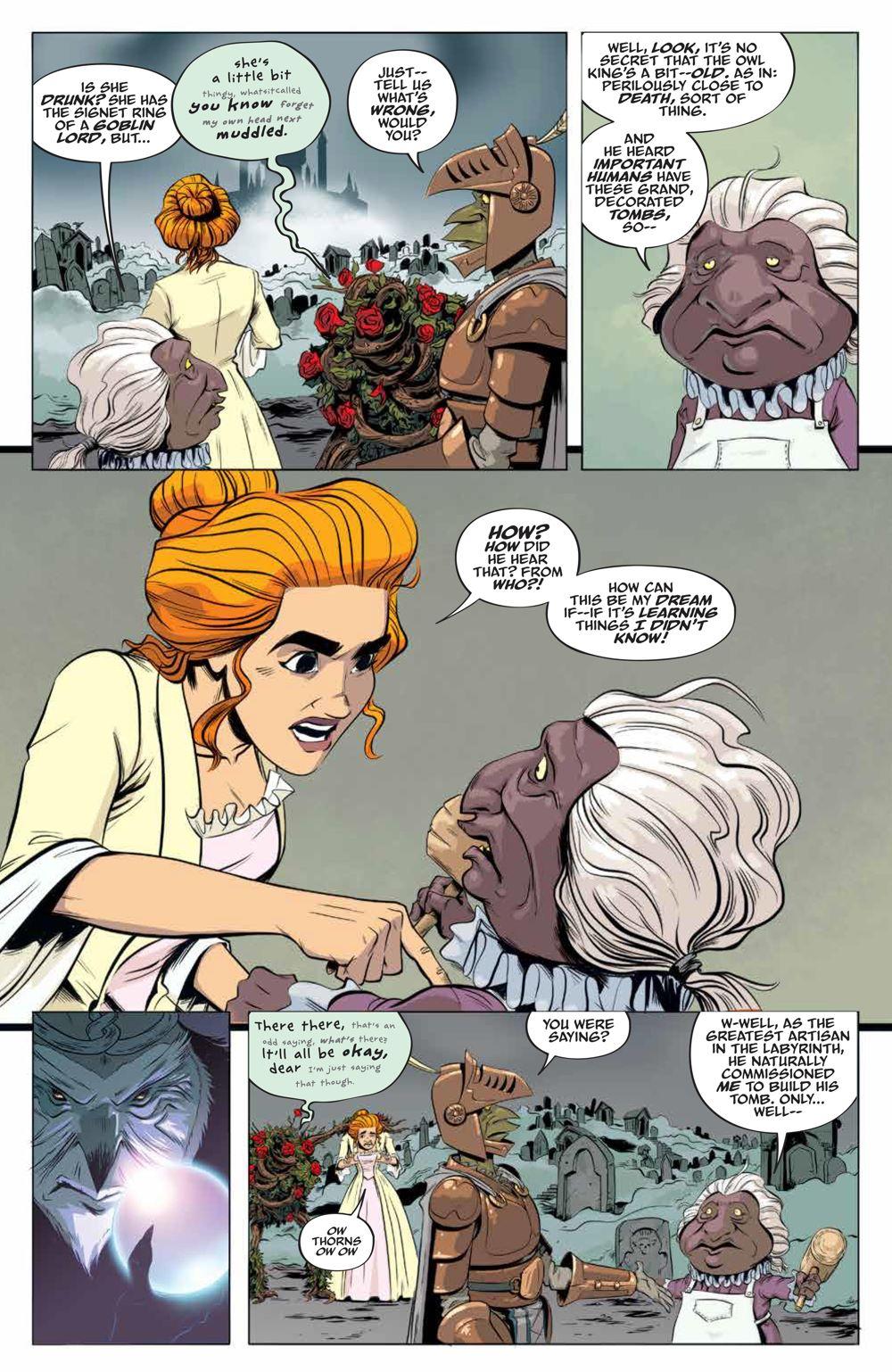 LabyrinthCoronation_v2_SC_PRESS_17 ComicList Previews: JIM HENSON'S LABYRINTH CORONATION VOLUME 2 TP