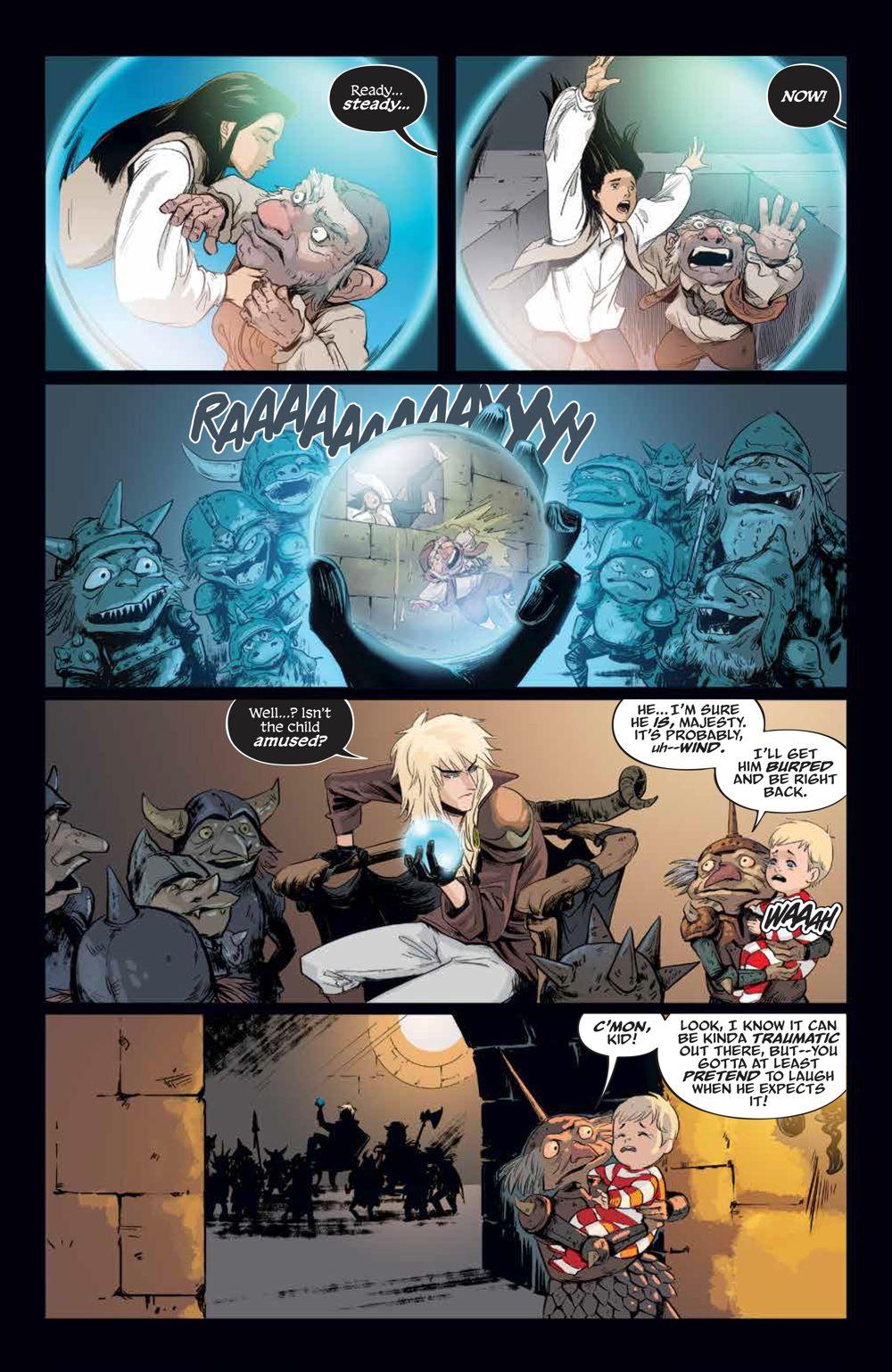 LabyrinthCoronation_v2_SC_PRESS_21 ComicList Previews: JIM HENSON'S LABYRINTH CORONATION VOLUME 2 TP