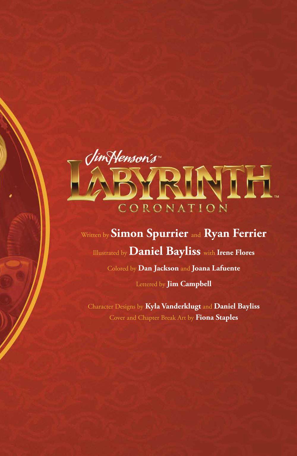 LabyrinthCoronation_v2_SC_PRESS_5 ComicList Previews: JIM HENSON'S LABYRINTH CORONATION VOLUME 2 TP