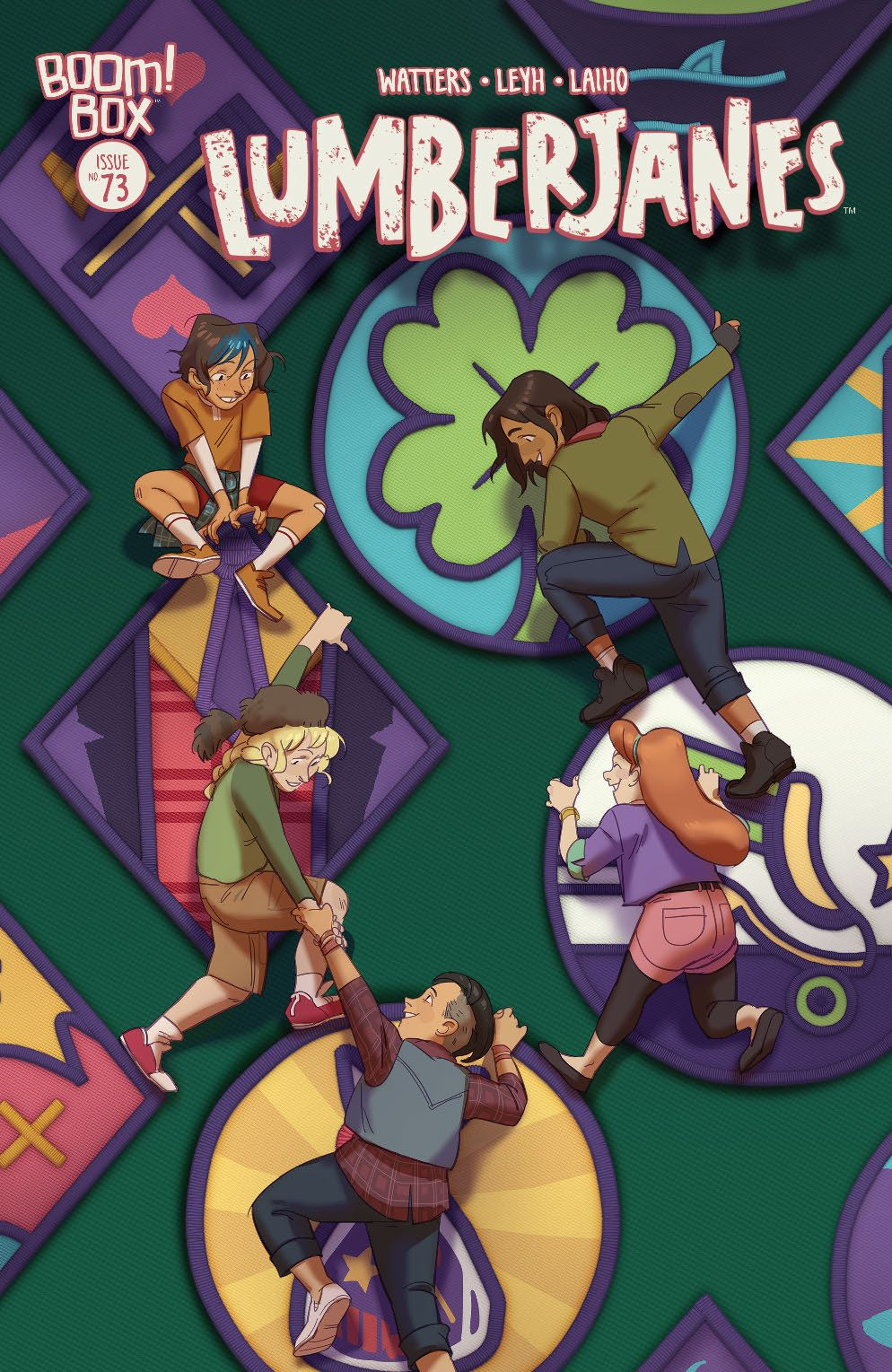 Lumberjanes_073_Cover_Variant ComicList: BOOM! Studios New Releases for 09/09/2020