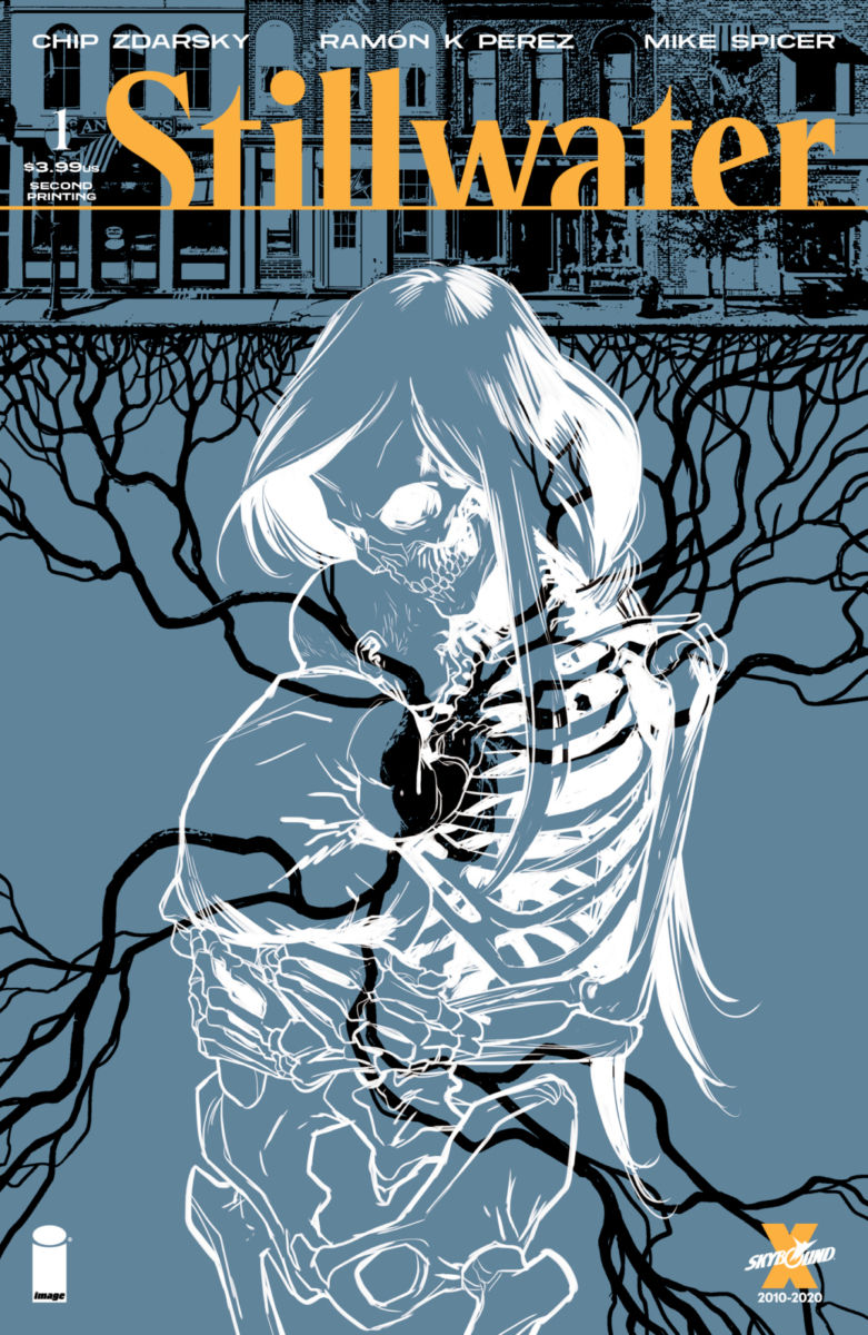 Stillwater01_2ndPtgCover_c6815a0147f8285e3b5042ebb3626151-1 First issue of Image Comics' horror series STILLWATER gets second printing