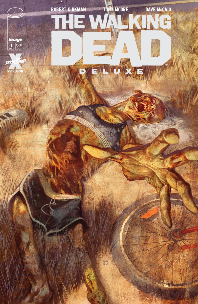 TWDDLX01_Tedesco-Cover_c6815a0147f8285e3b5042ebb3626151 Image releases variant covers for THE WALKING DEAD DELUXE #1