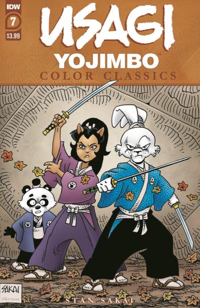 Usagi-CC07_pr-1 ComicList Previews: USAGI YOJIMBO COLOR CLASSICS #7