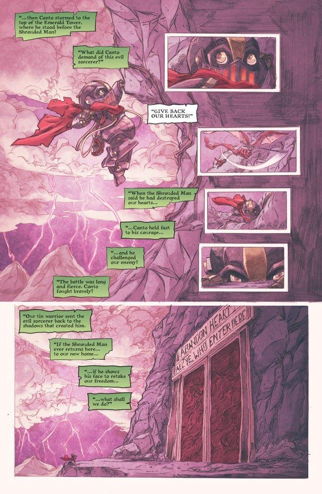 canto-ii-the-hollow-men-01-pr-3 ComicList Previews: CANTO II THE HOLLOW MEN #1
